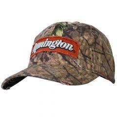 RM03A : Remington Mossy Oak Cap - Orange Patch (Low Crown)