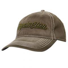 RM51C : Remington Cotton Washed Cap - Olive (Low Crown)